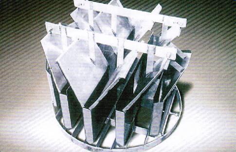 斜板式液体收集再分布器